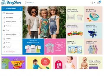 BabyStore - Детские товары